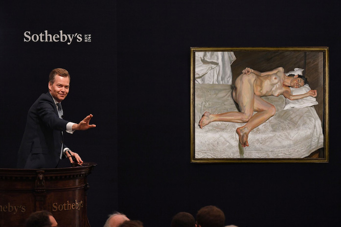 Sotheby's Sells Late Lucian Freud Masterpiece For Record-breaking £22.5m