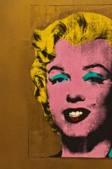 Andy Warhol: Artist Profile image courtesy Andrew Moore, Flickr (CC BY-SA 2.0)