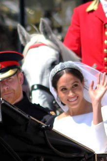 Duchess of Sussex's Royal Wedding Dress to Go on Display image courtesy Lorna Roberts / Shutterstock.com