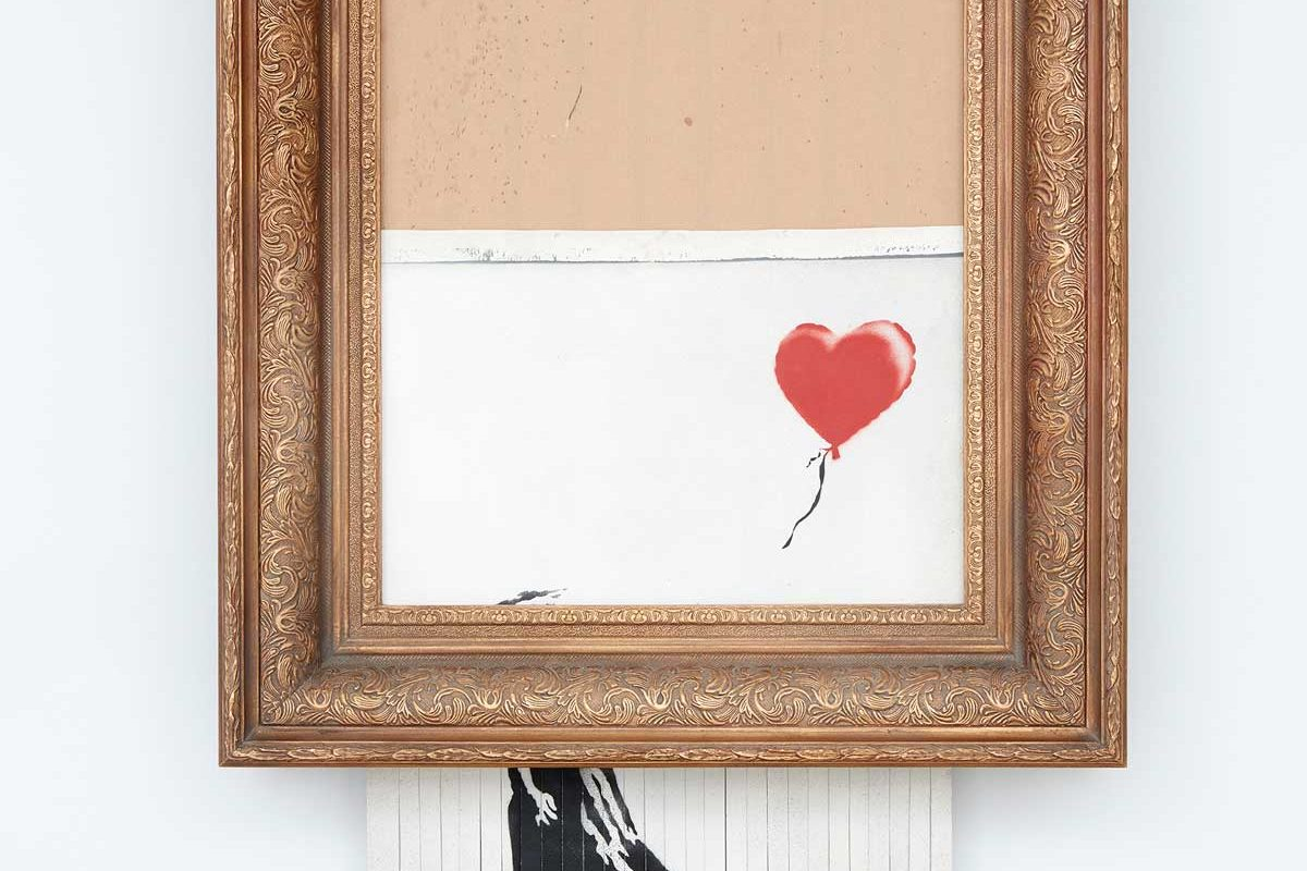 Banksy Releases Video Showing 'Rehearsal' Shredding of Girl With Balloon