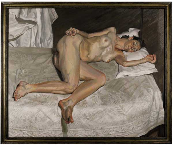Auction Highlights: Lucian Freud. Image courtesy Sotheby's.