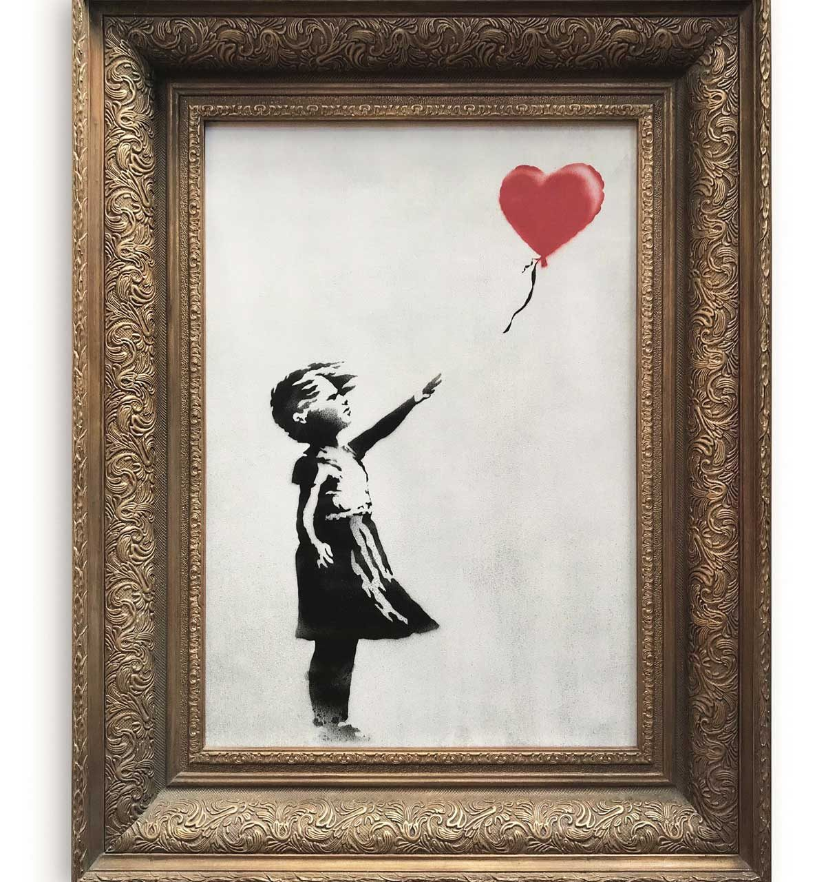 Banksy Painting Self-destructs After Selling for £1 Million