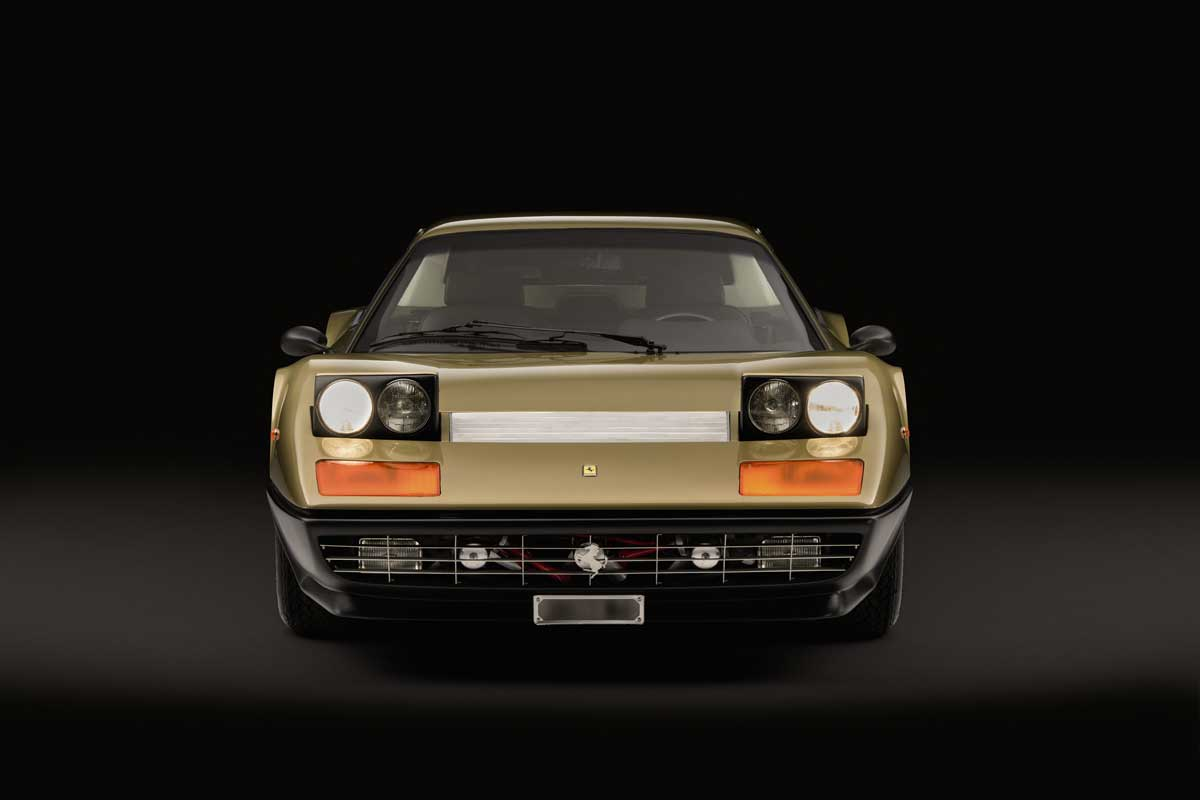 Sotheby's to Offer Rare Metallic Gold Ferrari