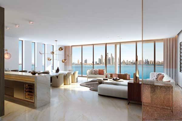 Luxury Developments. Image property of the Royal Atlantis Residences.