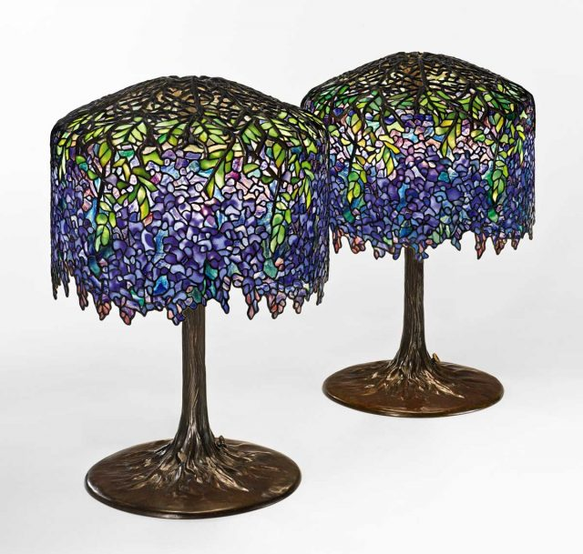 Tiffany Lamps. Image courtesy Sotheby's.
