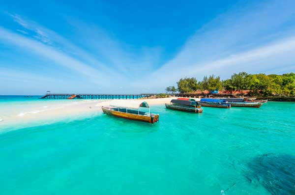 Luxury Travel: Indian Ocean. Zanzibar. Image courtesy Shutterstock.
