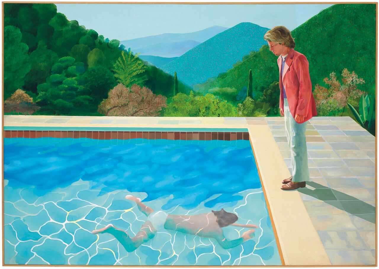 David Hockney Painting Makes Auction Record for Living Artist