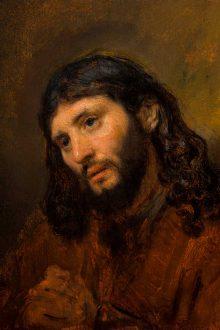 Rembrandt's Fingerprints 'Revealed' on Rare Oil Sketch. Image courtesy Sotheby's.