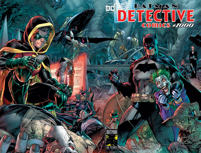 Celebrating Batman's birthday – Detective Comics reaches a collectable Issue 1,000