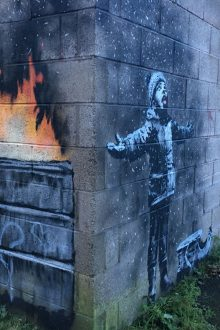 Latest Banksy Artwork 'Seasons Greetings' Sold for Six-figure Sum
