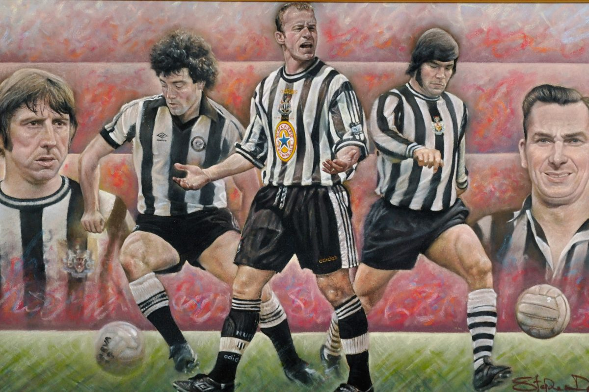 Sporting legends lead John Nicholson's auction of fine art by Stephen Doig