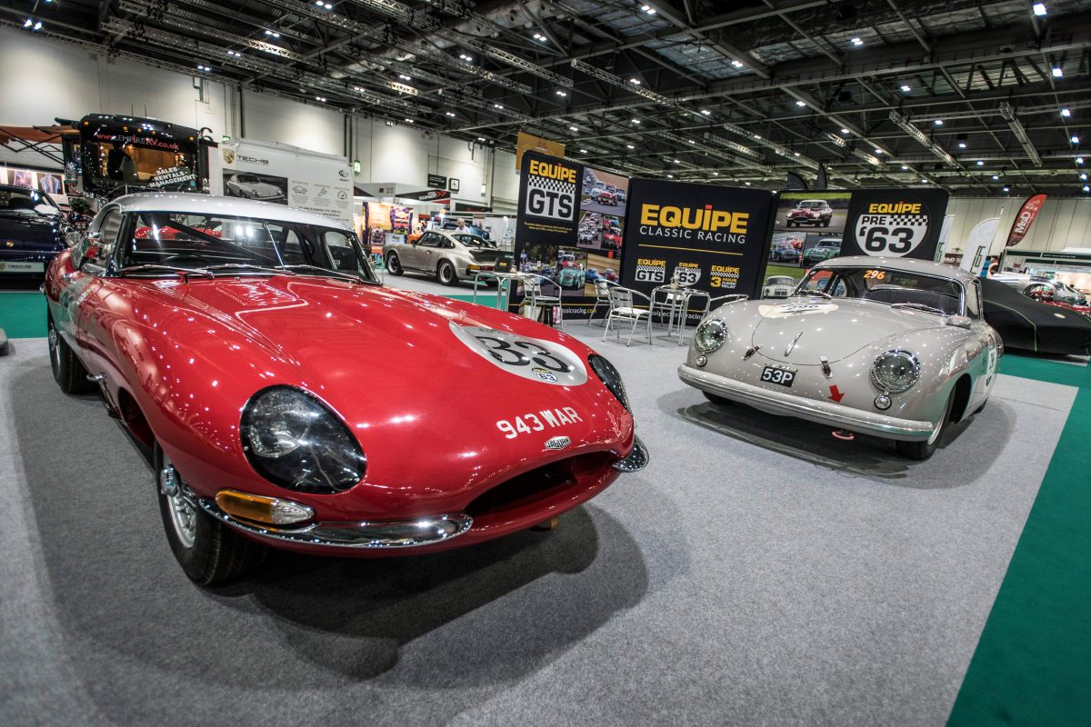 London Classic Car Show tackles investment issues with motoring writer Tiff Needell