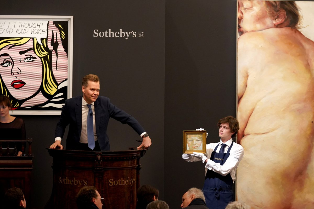 Sotheby's Contemporary Art Evening Auction Brings in £93.2m