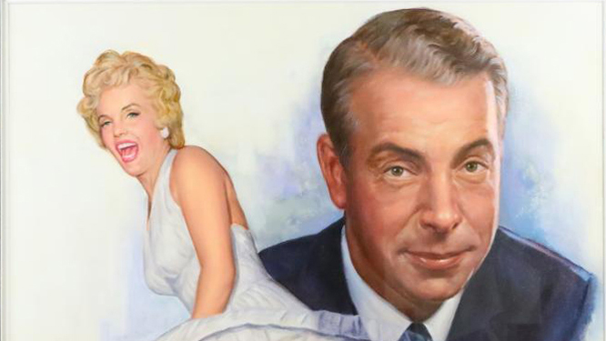 https://www.artsandcollections.com/wp-content/uploads/2019/03/Marilyn-and-Joe-painting-signed-by-DiMaggio-2.jpg