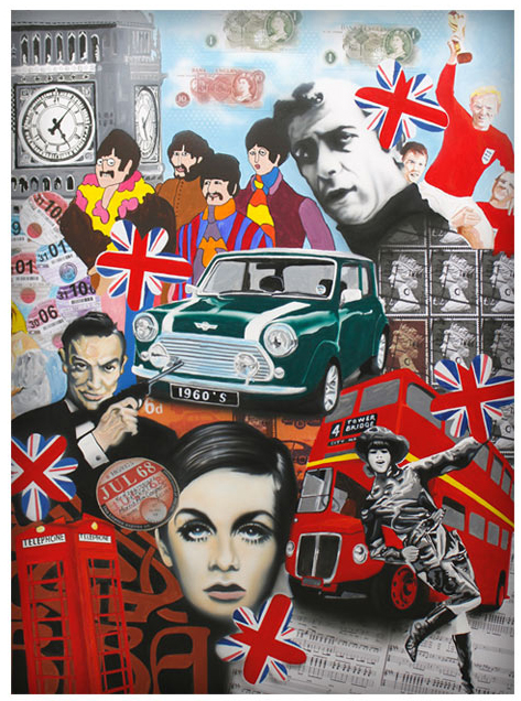 Sixtieth Anniversary of the Iconic Mini Celebrated in Pop Art Prints by Gary O'Neil