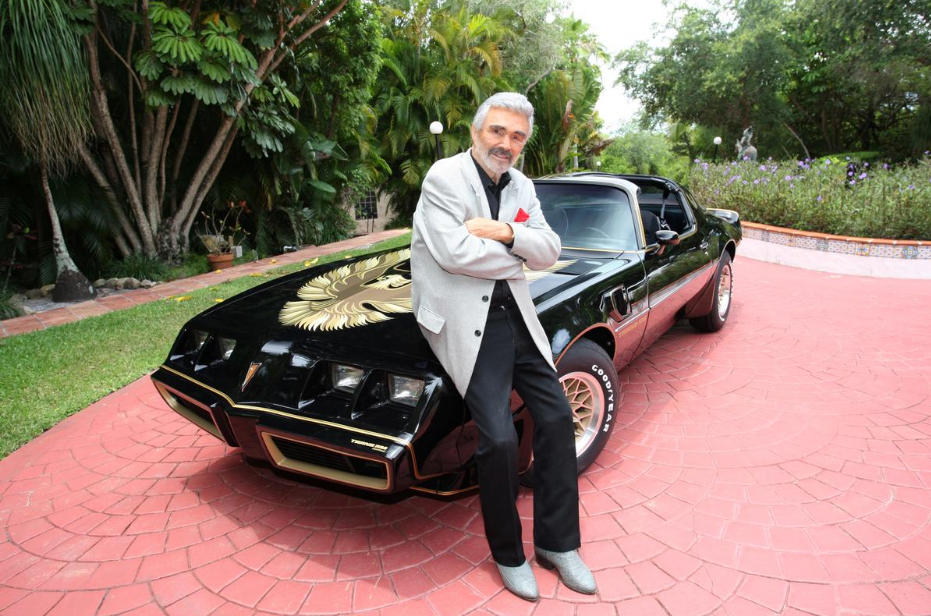 Burt Reynolds' Pontiac Trans Am Car and Other Memorabilia in Hollywood Auction