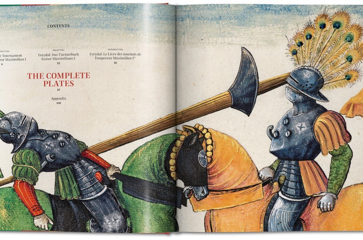 Taschen Reproduction of Tournament Book Freydal Marks Anniversary of Maximilian 1st