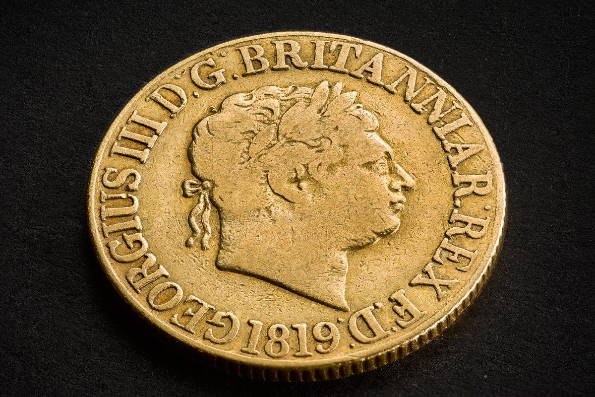 Royal Mint to Hold Ballot for Rare £100,000 George III Sovereign