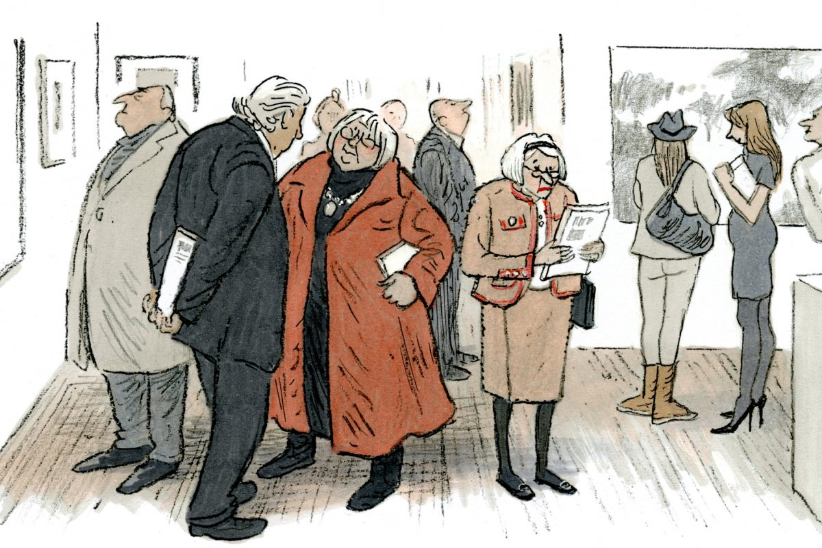 Graphic Novelist Posy Simmonds Retrospective Exhibition Opens at House of Illustration