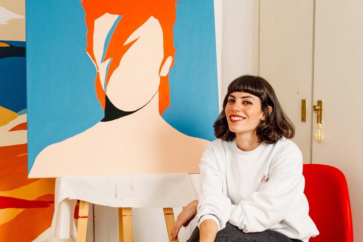 Coco Dávez Exhibition Brings Pop Art Celebrity Images to London's Maddox Gallery