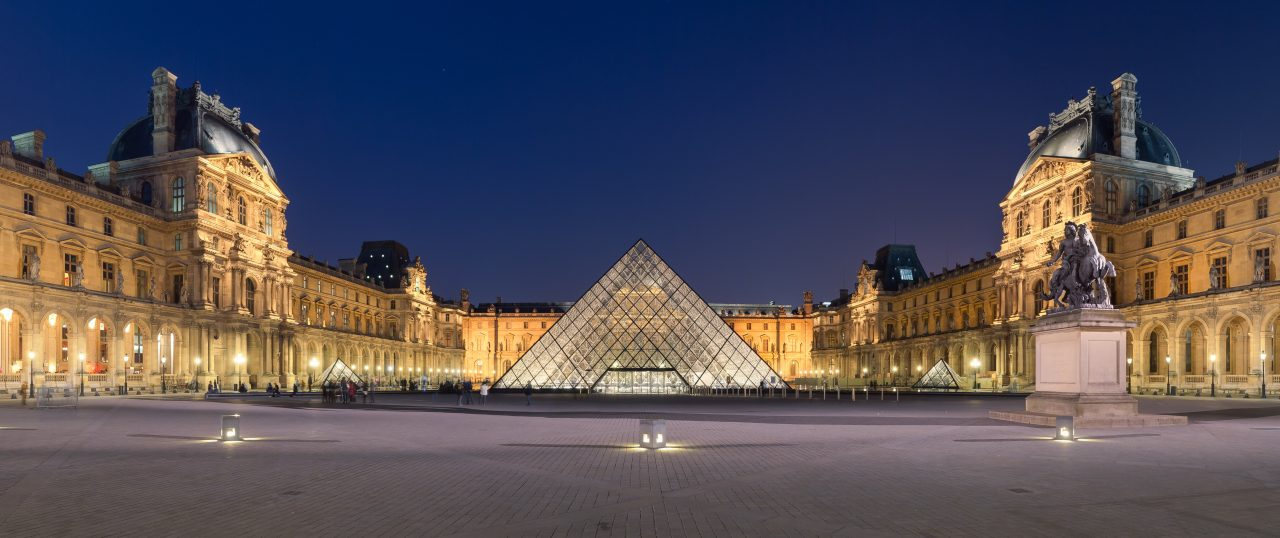 https://www.artsandcollections.com/wp-content/uploads/2019/05/IM-Pei-Louvre-Museum-image-courtesy-Wikimedia-Commons-1280x538.jpg