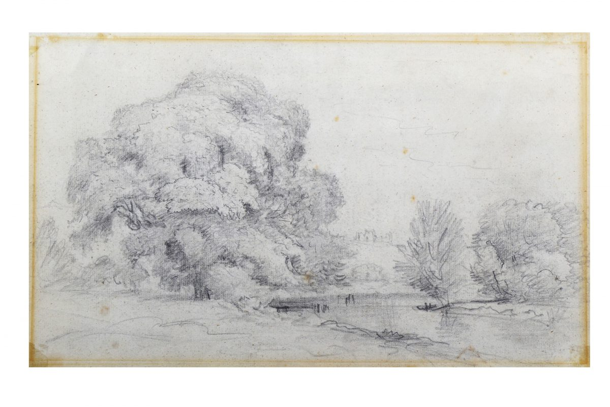 John Constable Landscape Sketch Sells for 14 Times Its Estimate