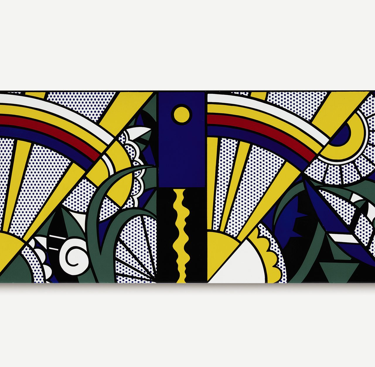 Roy Lichtenstein Panel 'Composition' Up For Auction at Sotheby's New York