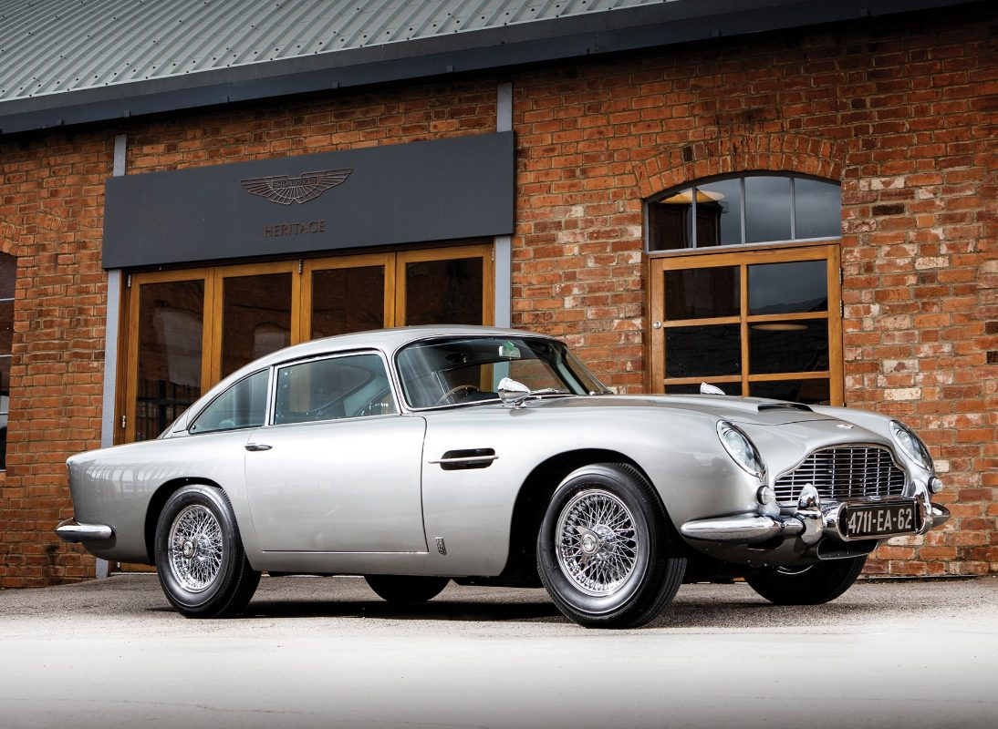 James Bond 1965 Aston Martin DB5 Could Be Yours For £3.5m From Sotheby's
