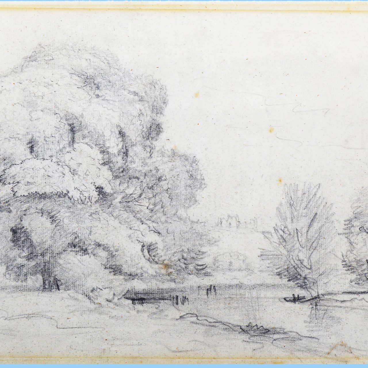 John Constable Landscape Sketch Sells for 14 Times Its Estimate
