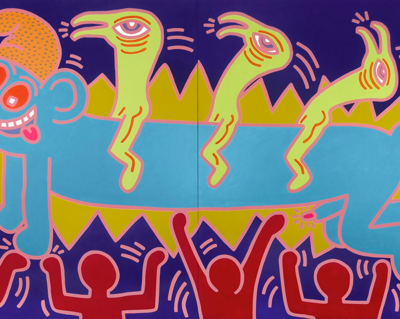 Opera Gallery Celebrates 25 Years With Keith Haring and Pablo Picasso at Masterpiece 2019