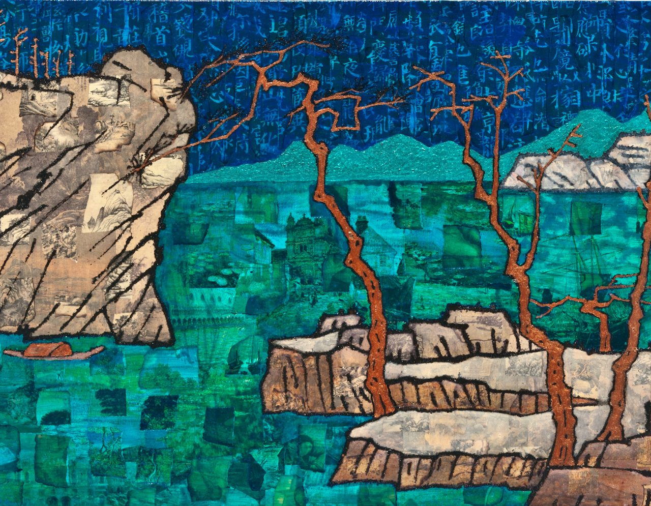 Chinese Art Gets Contemporary Look in 3812 Gallery's Mind-Scape V Exhibition