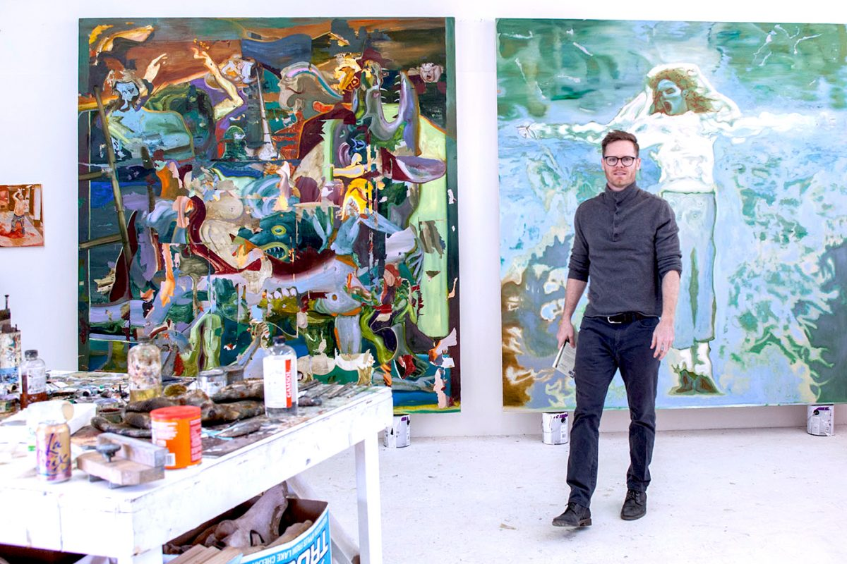 American Contemporary Artist Joshua Hagler Brings Chimera Show to London
