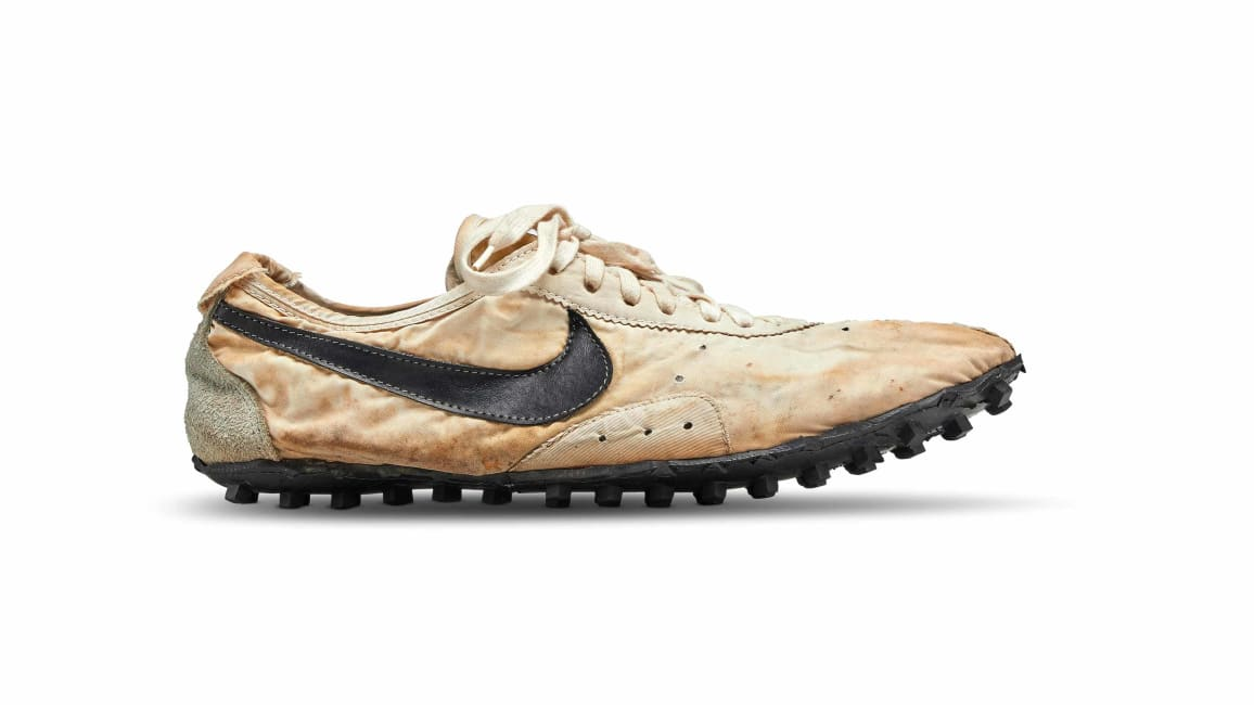 "Attention Sneakerheads, Nike's ""Moon Shoe"" and Countless Pairs of Rare Sneakers to Go On Auction"