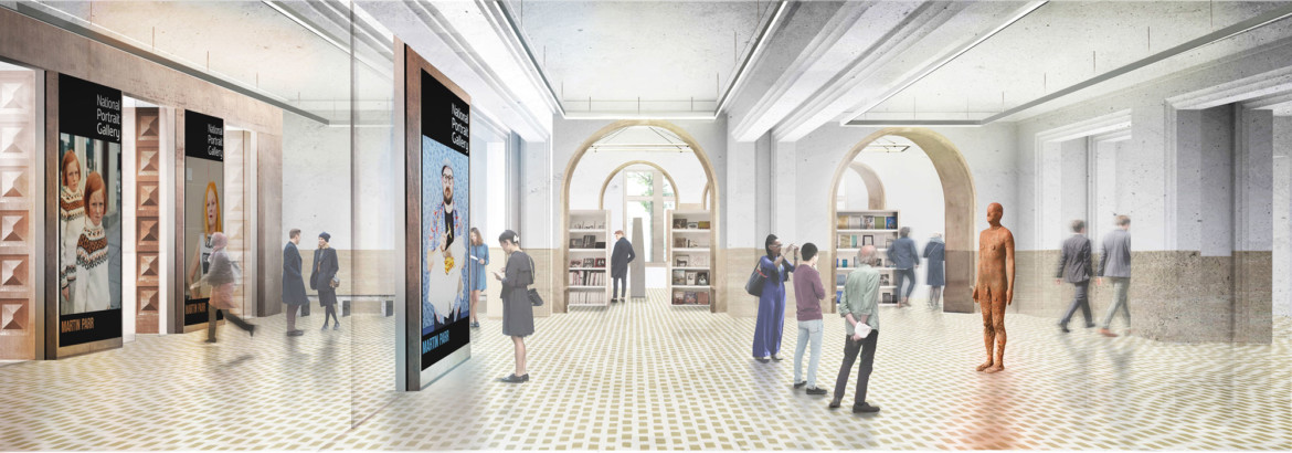 https://www.artsandcollections.com/wp-content/uploads/2019/11/amie-Fobert-National-portrait-gallery_new-entrance-hall-proposal_Jamie-Fobert-Architects-1170x410.jpg