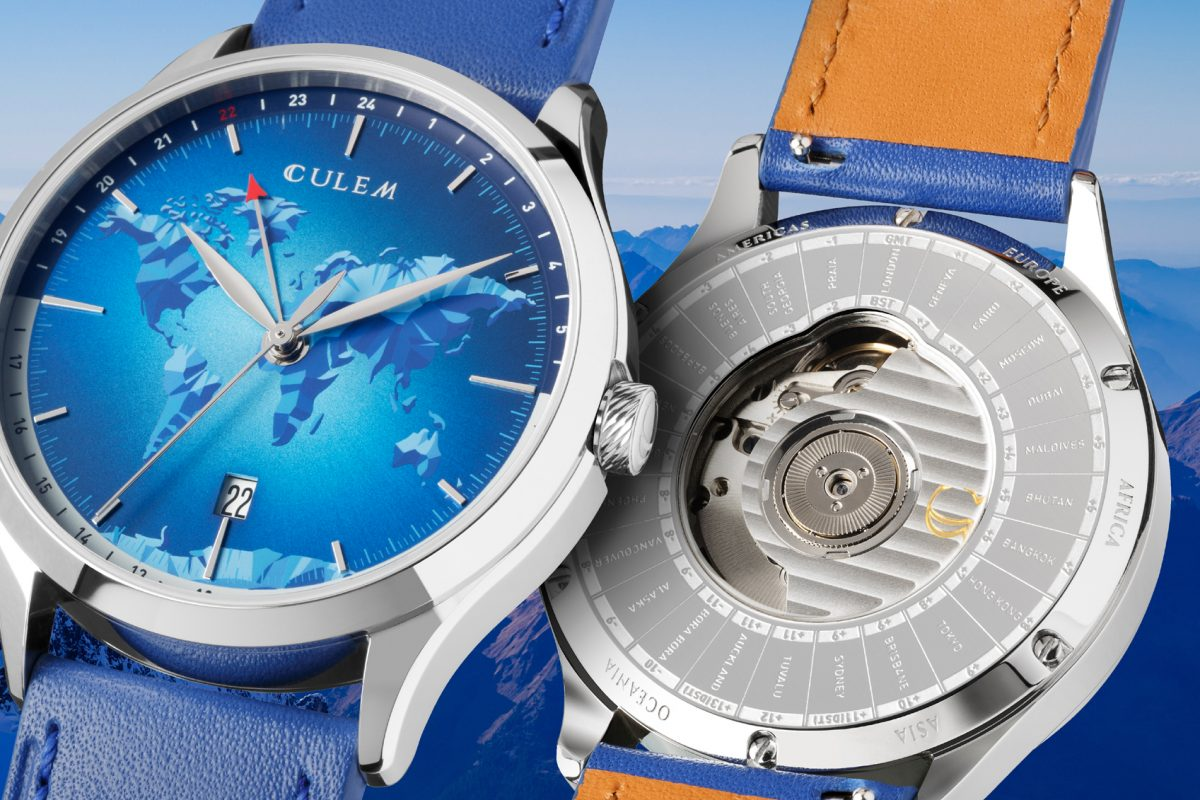 CuleM Watches Feature Unique World Time Zone Function
