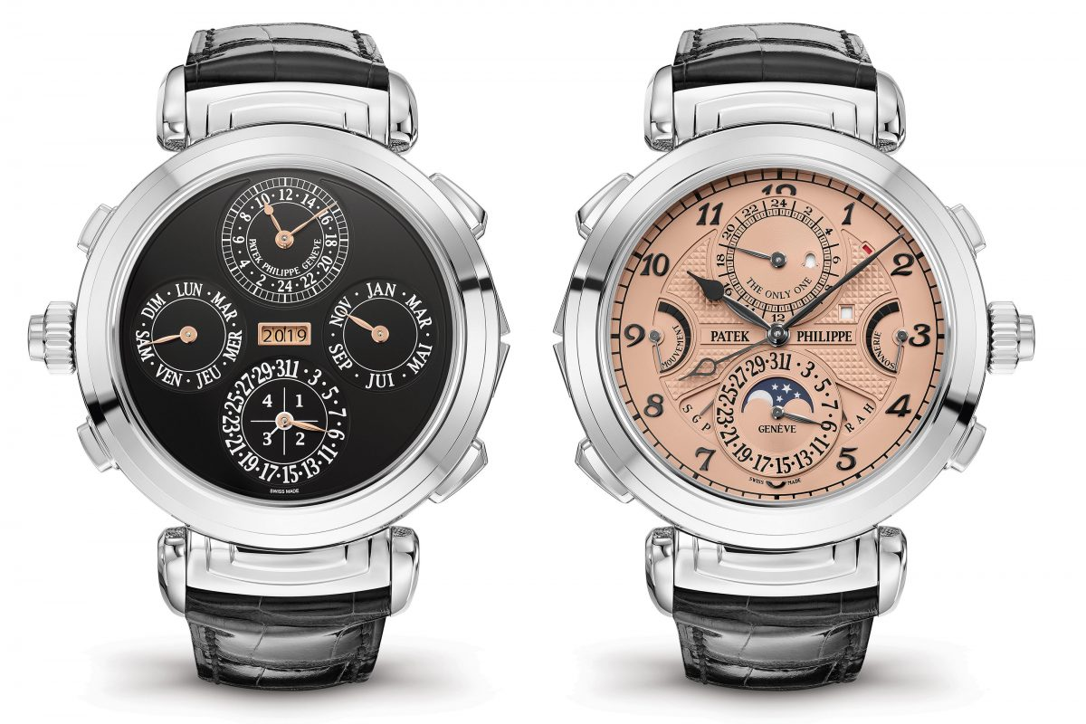 World Record Timepiece Auction Price Smashed By Patek Philippe For Only Watch Charity