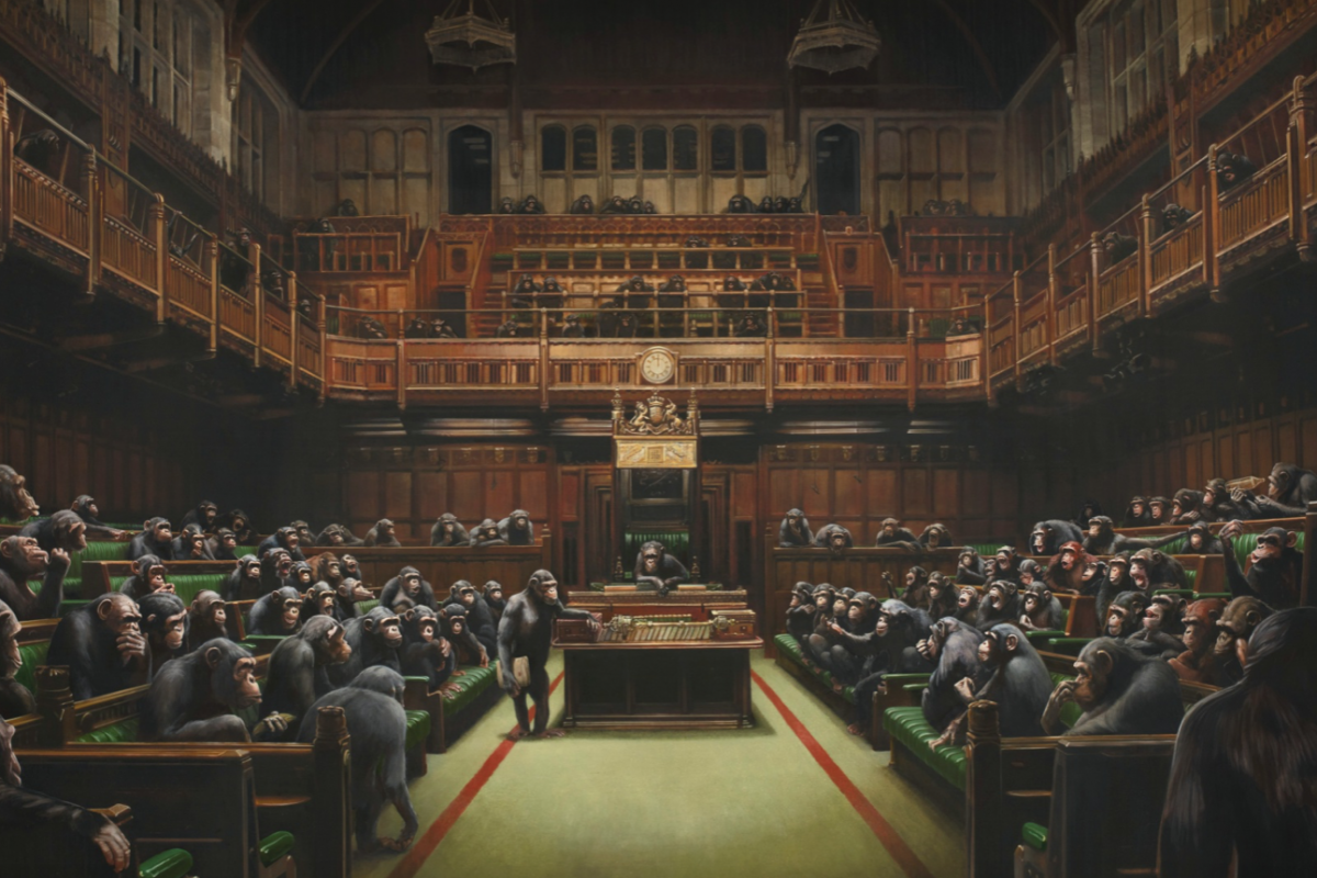 Banksy: How A Vandal Broke The Mould of British Art