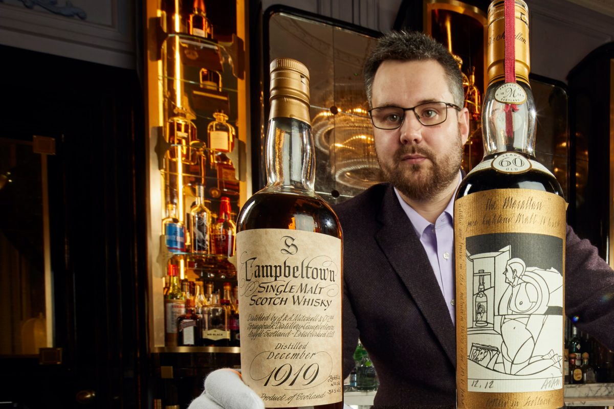 Whisky Auctioneer Announces £8m Sale of Single Malt Scotch