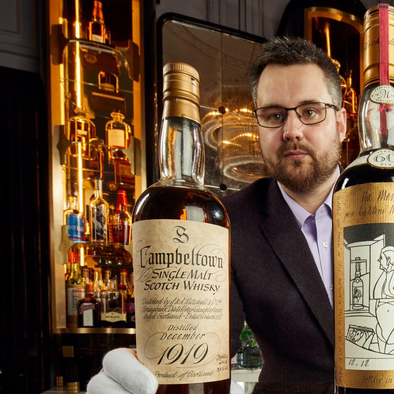 Whisky Auctioneer Announces £8m Sale of Single Malt Scotch