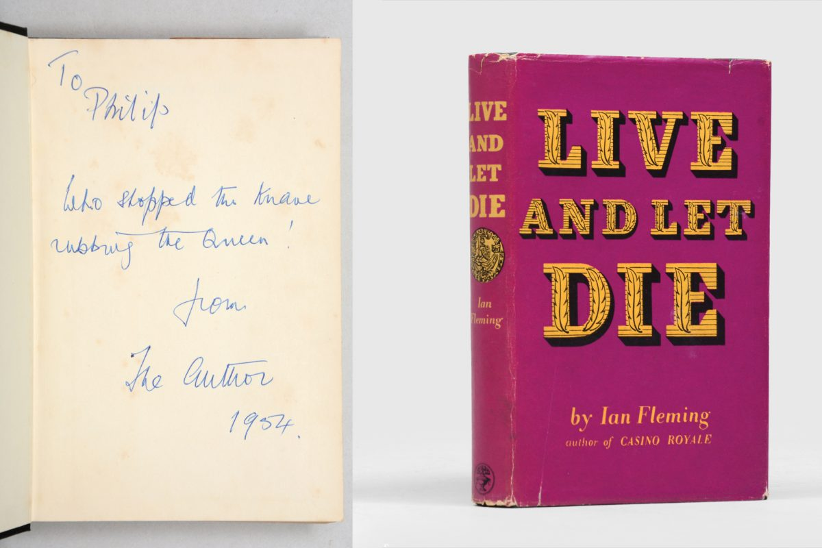 Peter Harrington Rare Books Catalogue Features Ian Fleming, Charles Dickens and more