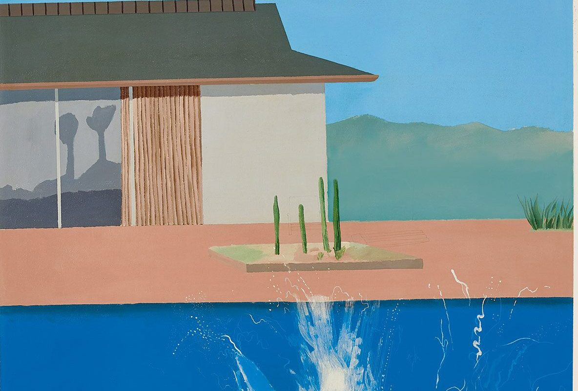 David Hockney Painting 'The Splash' Sells For £23.1m