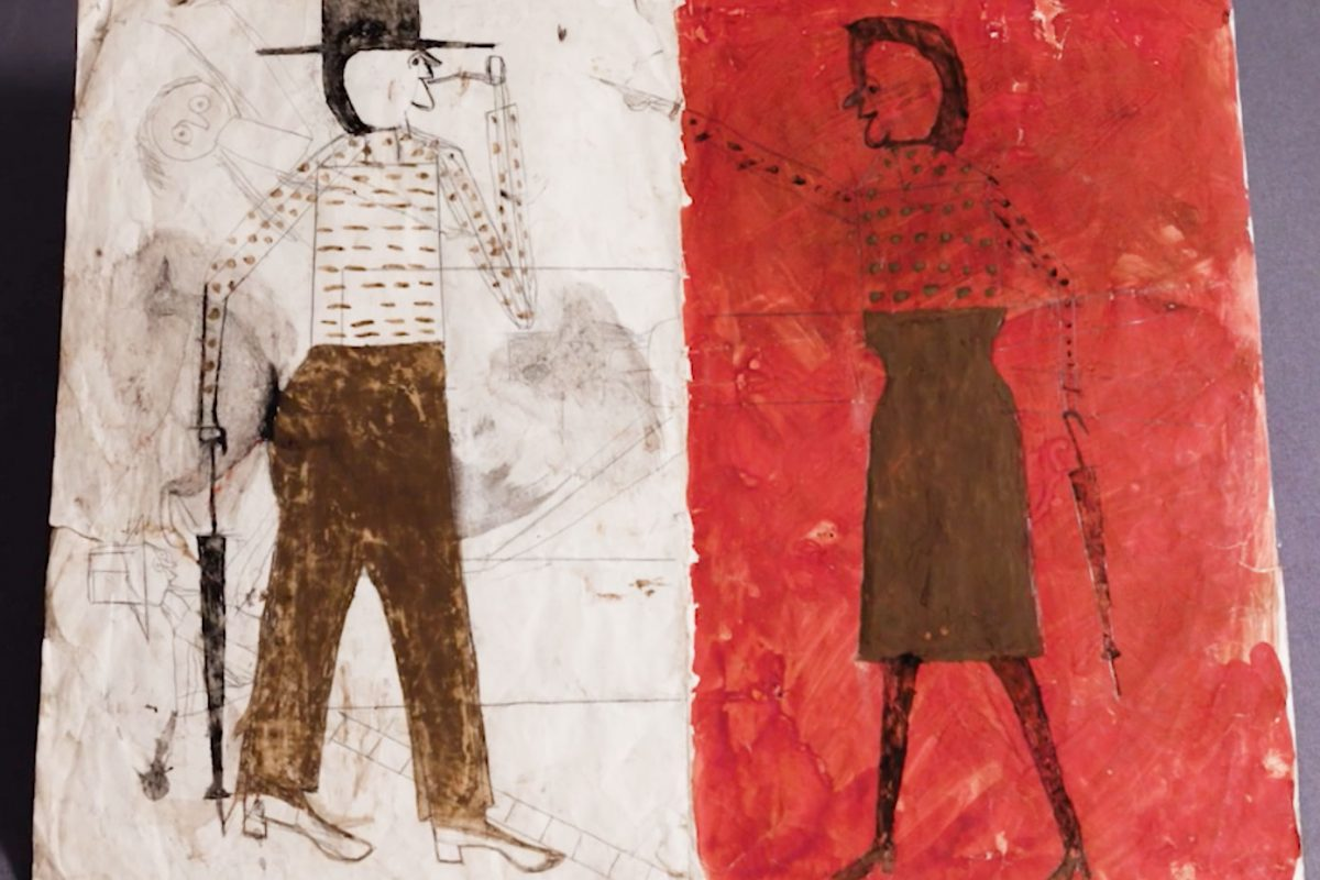 Outsider Art: Bill Traylor and the 'Art Brut' Imagination