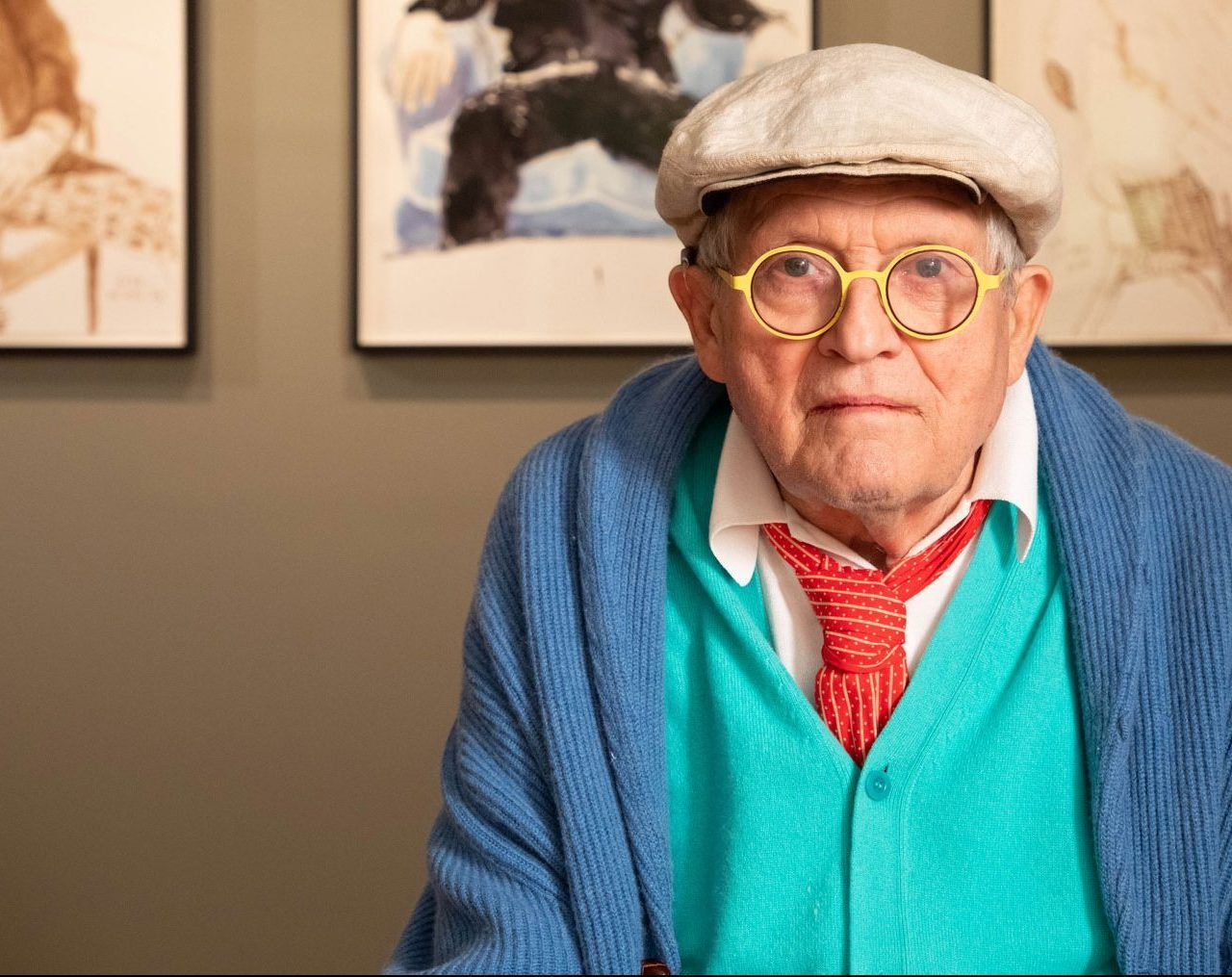 David Hockney Exhibition at the National Portrait Gallery Shines Light on an Artist's Life
