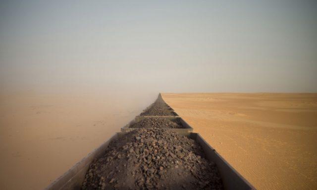 Adrian Guerin - Riding a Saharan Freight Train
