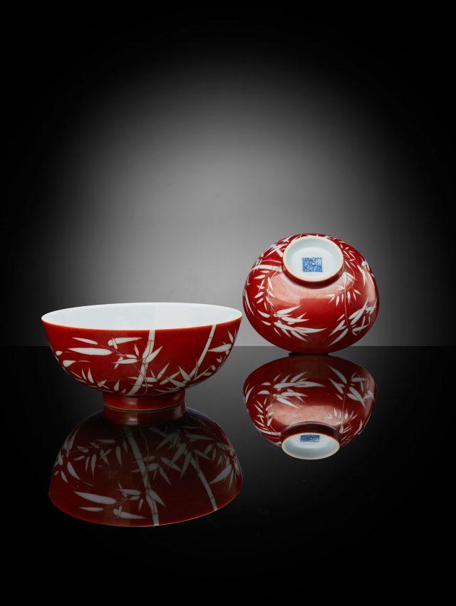 Qianlong bowls