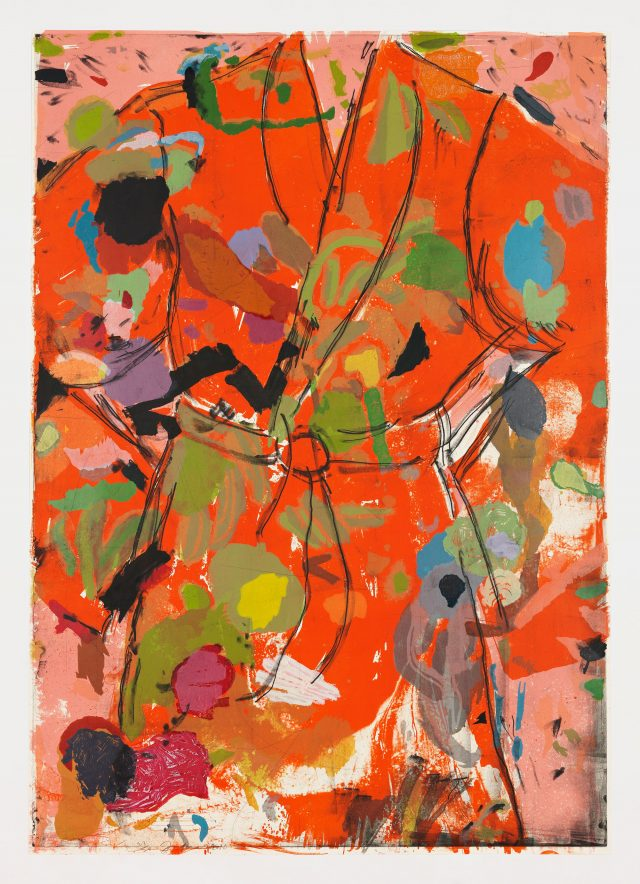 Jim Dine The Orange Birthday Robe