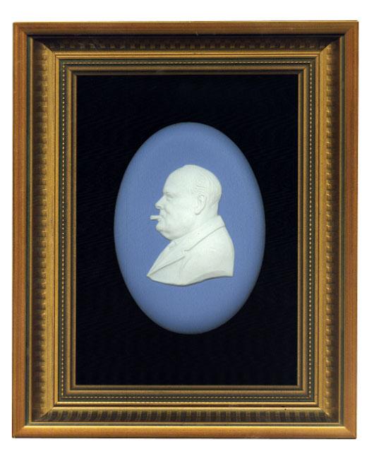 Churchill portrait Machin