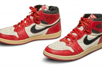 Sotheby's Sells Michael Jordan's Nike Sneakers For World Record Sum