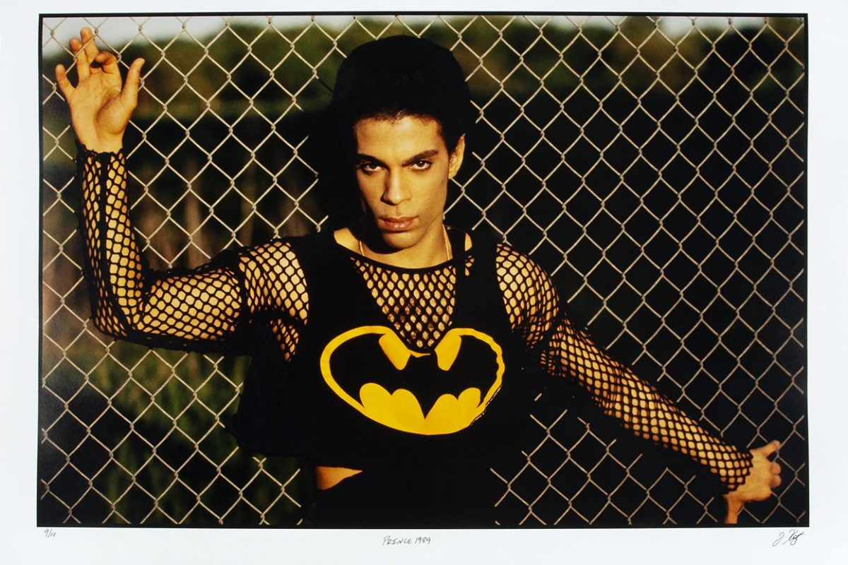 Julien's Auctions Offers Exclusive Jeff Katz Photos of Singer Prince