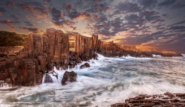 The Wall by Linda Wie, taken in Bombo, Australia.